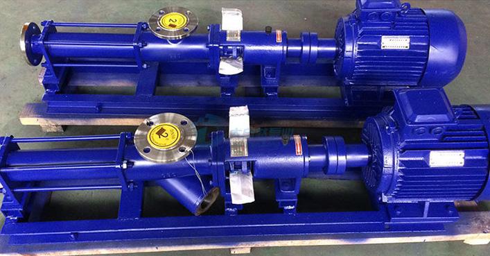 g型螺杆泵 g20-1 不锈钢螺杆泵 单螺杆泵 污泥泵图片